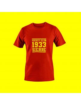 T-shirt Vintage Rouge homme