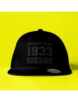 Casquette Vintage Noire HC Sierre