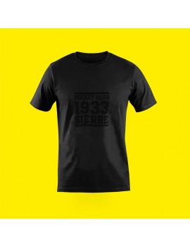 T-shirt Vintage Noir homme