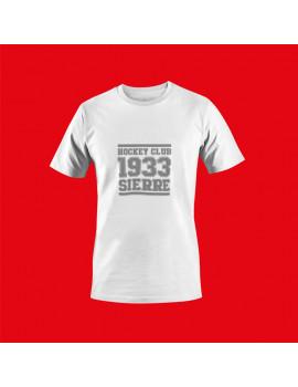 T-shirt Vintage Blanc homme